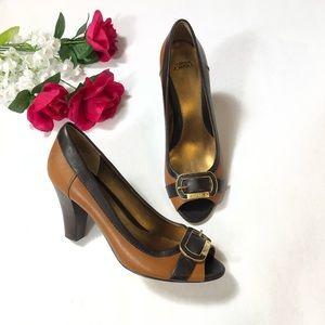 Circa Joan & David Peep Toe Heel Pump | Size: 8.5